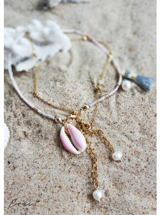 """Apyrankė ant kojos ,,Pink sea shell"""""""