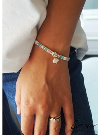 """Apyrankė ,,Minimal beads - SUMMER PINK"""""""