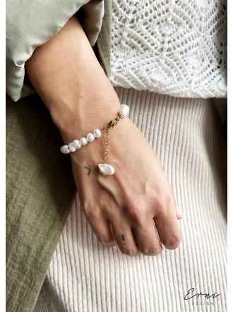 """Apyrankės su upiniais perlais ,,Savina"""""""