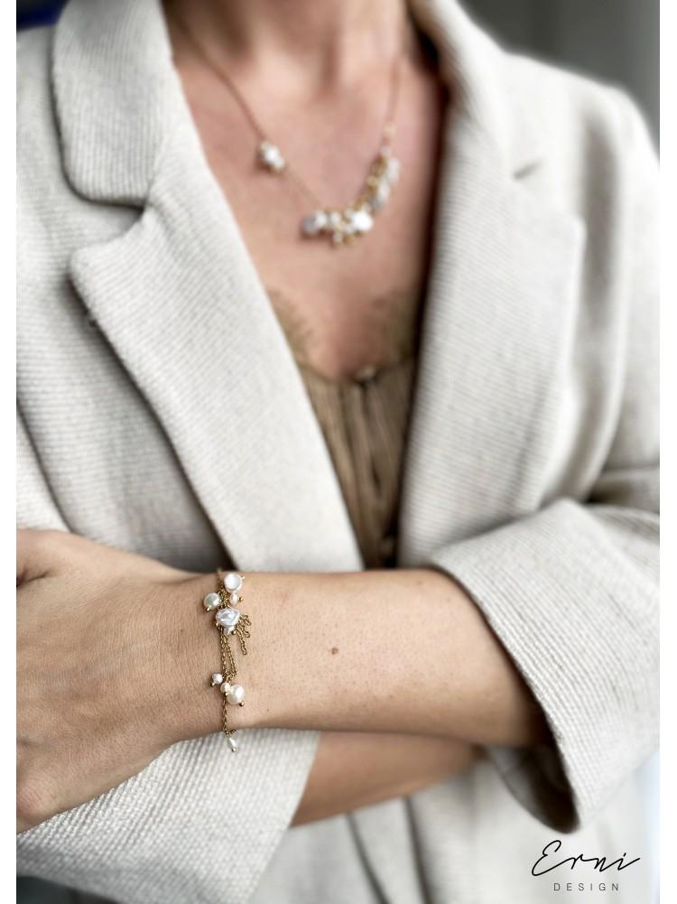 """Apyrankė su perlais ,,Julie"""""""