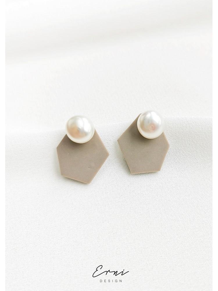 """Dvigubi auskarai su upiniais perlais ,,Bruna"""""""