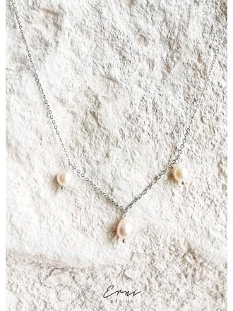 """Pakabukas su perlais ,,Artemis - SILVER"""""""