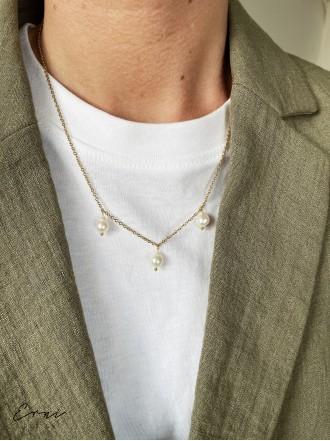 """Pakabukas su perlais ,,Artemis - GOLD"""""""