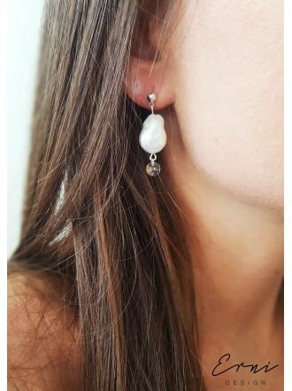 """Auskarai su barokiniais perlais ,,Renesmė"""""""