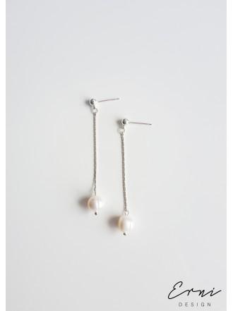 """Auskarai su upiniais perlais ,,Saja"""""""
