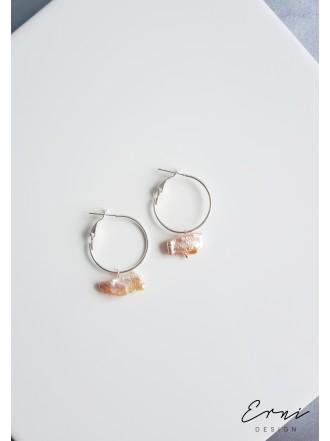 """Auskarai su barokiniais perlais ,,Juneta 2"""""""