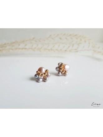 """Auskarai su upiniais perlais ,,Perlė"""""""