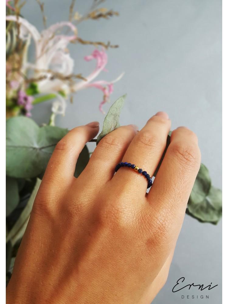 """Žiedas su lazurito akmenukais ,,Maja"""""""