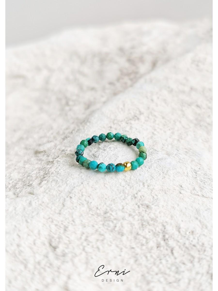 """Žiedas su turkio akmenimis ,,Gala"""""""